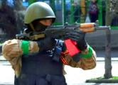 Боевики, прикрывшись женщинами, атаковали батальон «Донбасс»