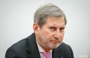 Как оппозиция встретилась с еврокомиссаром Ханом