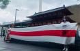 Дочь самурая вышла на акцию в поддержку белорусских героев
