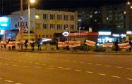 Ангарская вышла на вечернюю акцию протеста