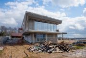 Фотофакт: Новый дом Домрачевой на Минском море