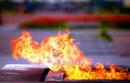Из-за визита Лукашенко ветеранов не пускали к вечному огню
