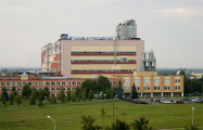 В Гродно над зданием «Химволокно» развевается национальный флаг