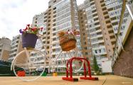Фотофакт: самый добрососедский дом в Минске