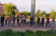 В Жлобине стартовал первый велопробег солидарности