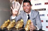 Роналду получил свою рекордную «Золотую бутсу»