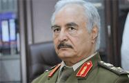 Генерал Хафтар согласился на переговоры по перемирию в Ливии