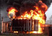 В Минском районе взорвался трансформатор?