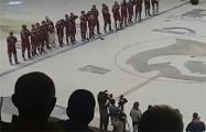 И.о. председателя Федерации хоккея Беларуси Баскова освистали после финала Кубка Салея