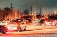 Видеофакт: гомельские автомобилисты организовали флешмоб к 8 Марта
