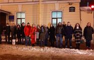 Протестовавшие под белорусским посольством в Санкт-Петербурге — на свободе
