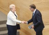 Премьер-министром Литвы снова стал Альгирдас Буткявичюс