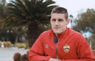 Белорусский футболист Шкурин заявил, что не будет приезжать в страну при Лукашенко