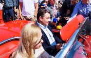 Шорец колесил по Минску на Chevrolet Corvette