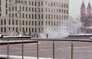 Минздрав рассказал о состоянии белоруса, который совершил самоподжог на площади Независимости