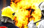 На одном из крупнейших нефтегазовых месторождений России вспыхнул пожар
