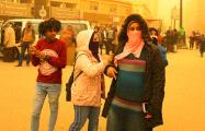 Египет накрыла сильная песчаная буря