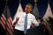 Обама вступился за сорвавших его выступление зрителей