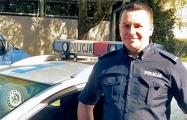 Польский полицейский, ставший донором для белоруски: Очень хочу с ней встретиться