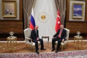Путин и Эрдоган встретились в Анкаре