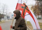 Возле «Комаровки» задержали участника шествия в Куропаты