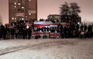 Жители Юго-Запада вышли поздравить белорусов с Рождеством