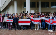 Объединенный Марш пенсионеров, медиков и студентов в фотографиях