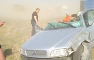 Фотофакт: На трассу М1 налетела «песчаная буря»