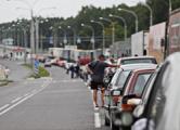 На белорусско-литовской границе скопилось 1400 автомобилей