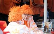 Голландия - Беларусь: болельщики «оранжевых» заполнили фан-зону еще в полдень
