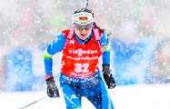 Белорусская биатлонистка Ирина Кривко выиграла «бронзу» на чемпионате Европы
