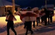 Воскресный марш прошел в Волковыске