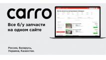 Агрегатор CARRO.by: покупайте выгодно надежно, быстро