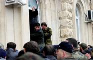 «У людей такой подъем»: В Абхазии протестующие остались на улицах праздновать отставку президента