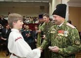 Гродненских школьников посвятили в «казаки»