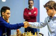 Шахматисты Карлсен и Каруана в четвертый раз подряд сыграли вничью в матче за звание чемпиона мира