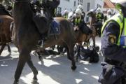 Пять человек пострадали в ходе акции против шведских нацистов