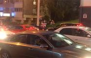 «Водители 97%» заблокировали движение по Кальварийской и проспекту Дзержинского