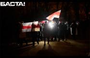 «Жыве Беларусь!»: Сенница вышла на протестный марш