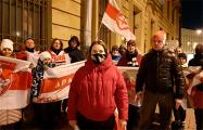 Белорусы Санкт-Петербурга держат протест у посольства Беларуси уже 122 дня