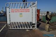 Фотофакт: Моряки из Керчи прикрывают украинских военных в Донбассе