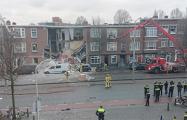 При взрыве в Гааге обрушились фасады нескольких домов