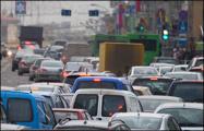 В Минске 9-балльные пробки