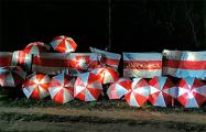 Жители Борисова вышли на вечерний протест