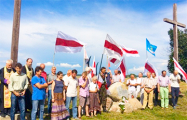 Под Лидой торжественно открыли народный памятник повстанцам 1863 года