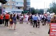 В Бобруйске скандируют «Лукашенко уходи!»