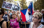 «Позор, позор!»: в Чехии  вспыхнули протесты в годовщину советского вторжения