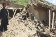 Оползень в Афганистане уничтожил целую деревню