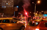 Демонстранты перекрыли движение в Серебрянке