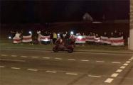 Шабаны устроили перформанс с национальными флагами
